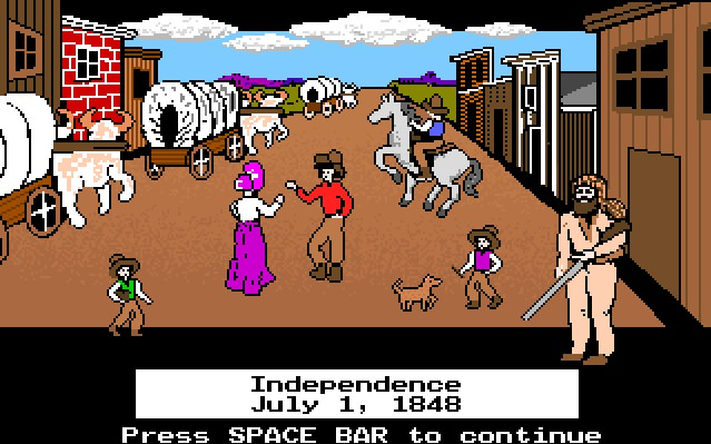 The Oregon Trail Играть Онлайн