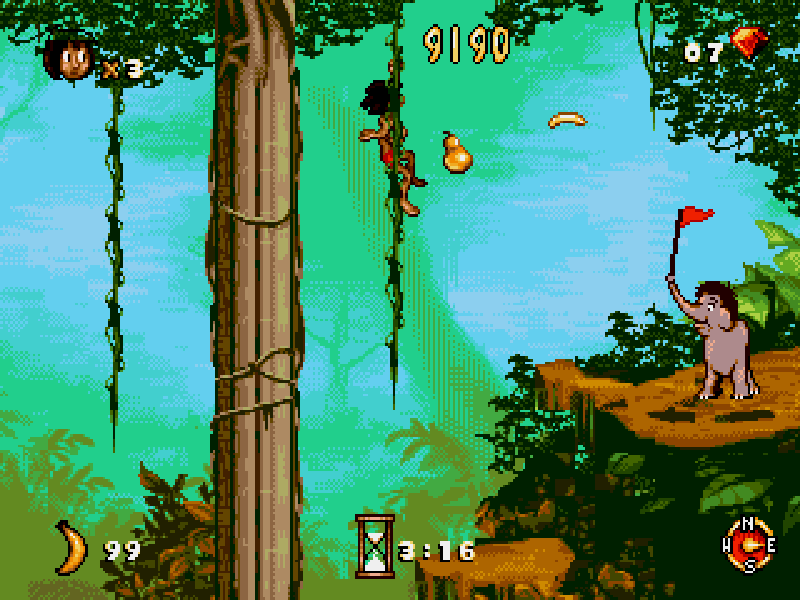 Jungle Book (Sega) Play online