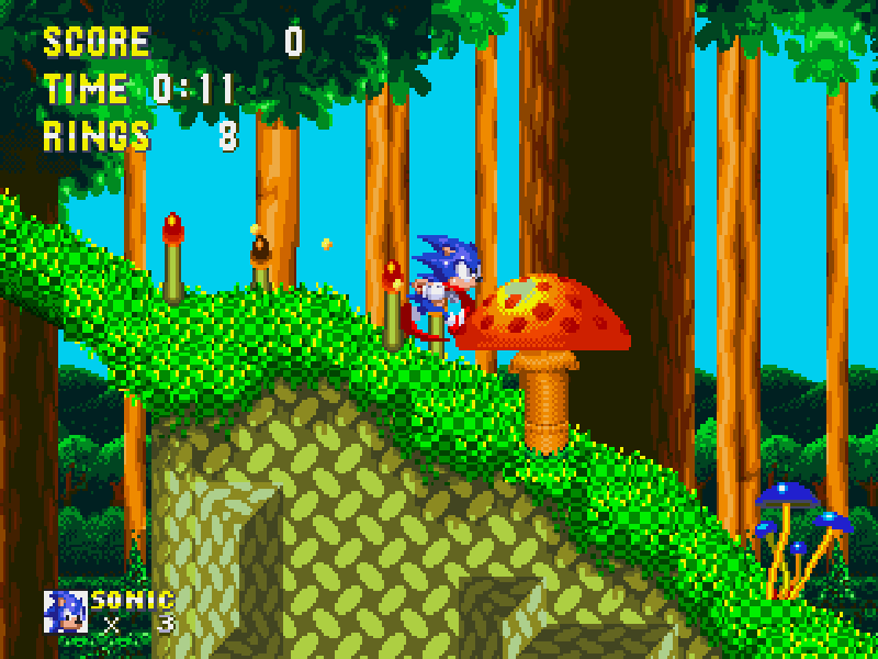 Sonic and Knuckles / Соник и Наклз Играть Онлайн