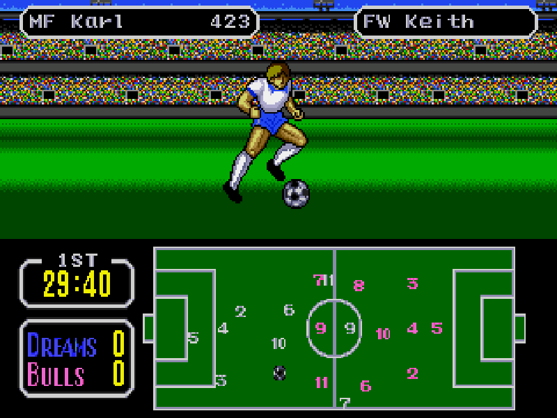 Tecmo Cup play