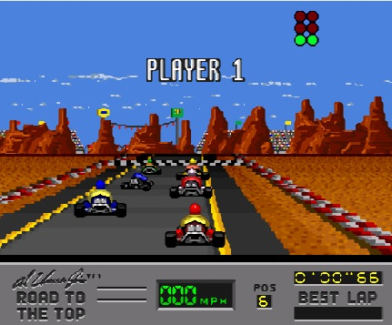 Al Unser Jr's Road to the Top Играть Онлайн
