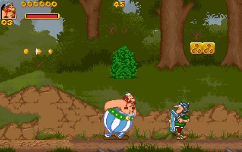 Asterix and Obelix / Астерикс и Обеликс Играть Онлайн