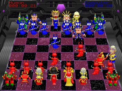 Battle Chess 4000 /  Боевые шахматы 4000 играть
