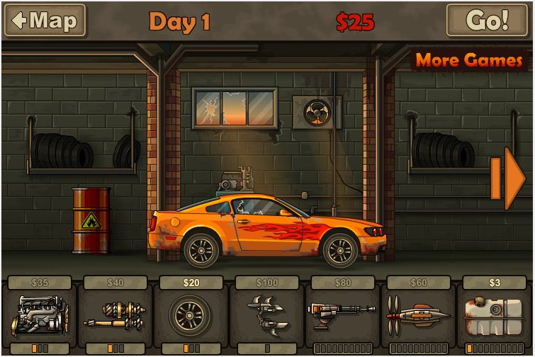 Earn to Die 2012 Играть Онлайн