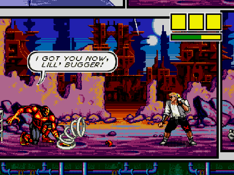 Comix Zone Play online
