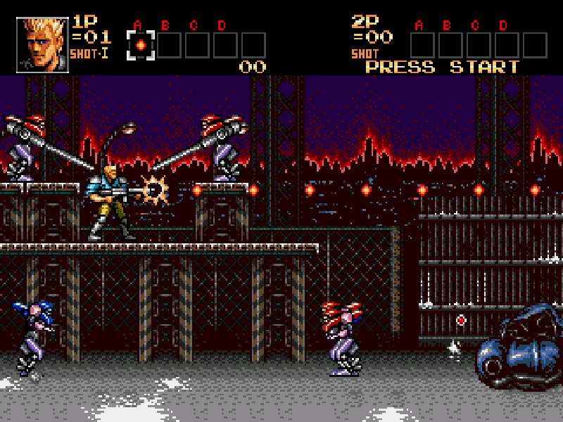 Contra Hard Corps Play online