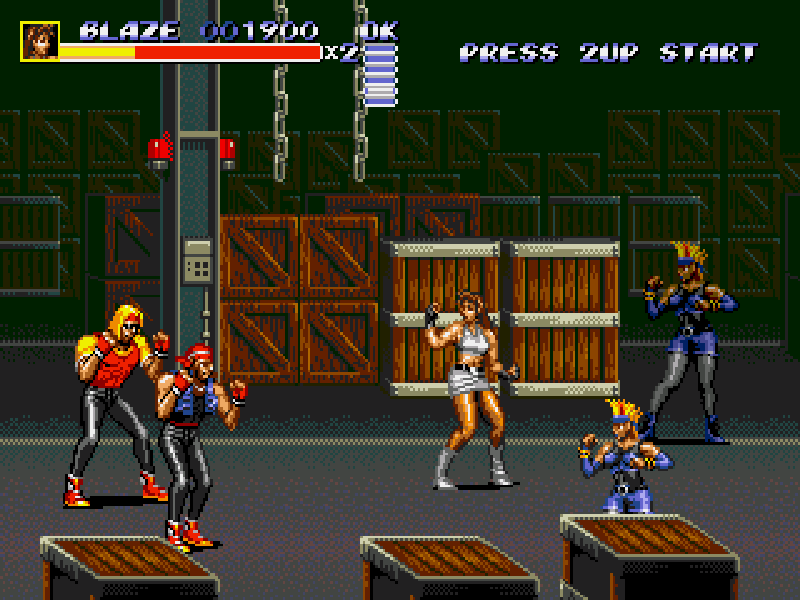 Streets Of Rage 3 (Bare knuckle 3) Play online