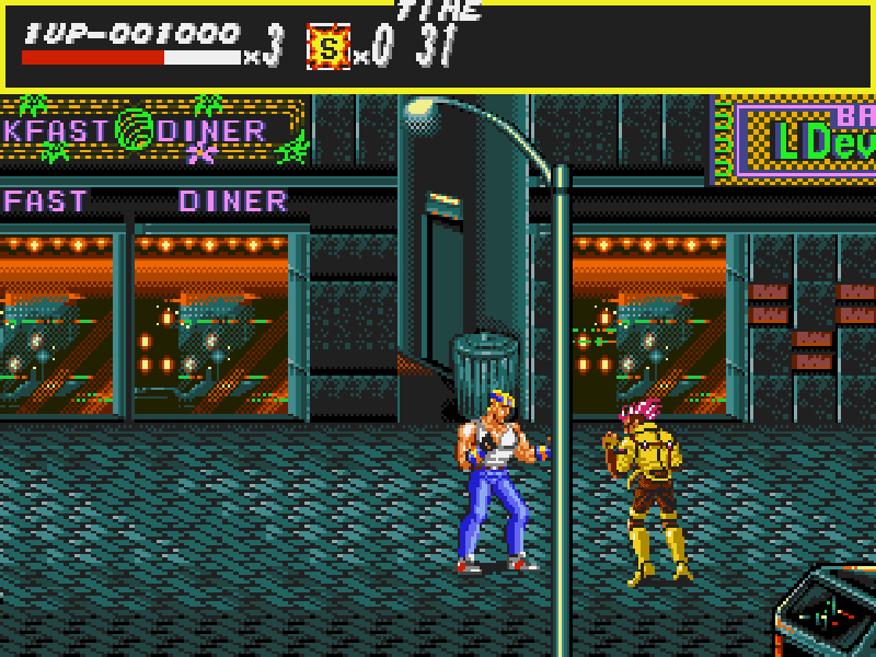 Streets Of Rage (Bare knuckle) Play online