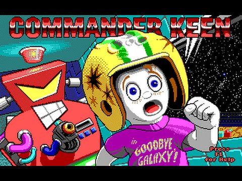 Commander Keen 5: The Armageddon Machine / Командир Кин 5:  Армагеддон машин Играть Онлайн