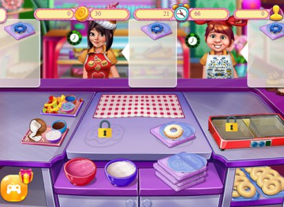 Cooking Fast 2: Donuts Play online