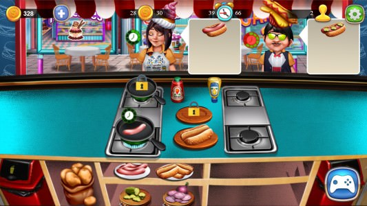 Cooking Fast: Hotdogs and Burgers craze Play online