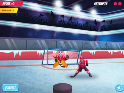 Ice Hockey Shootout Play online