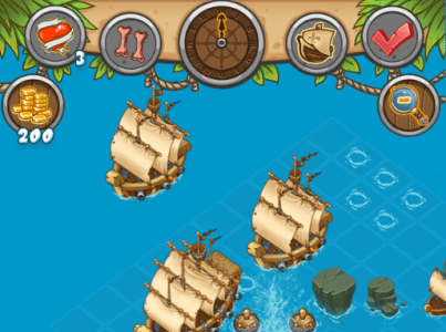Pirates and Cannons Play online