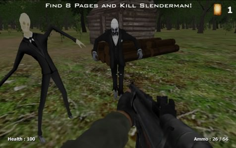 Slenderman Must Die: Silent Forest / Слендермен должен умереть: тихий лес Играть Онлайн