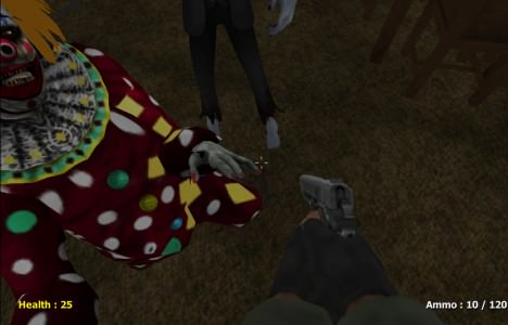Slender Clown: Be Afraid of It! Слендер клоун: бойся его! Играть Онлайн