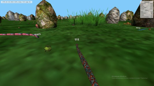 Snakes 3D Play online