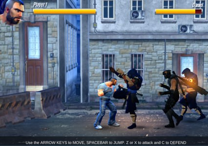 Street Fighter Madness Play online