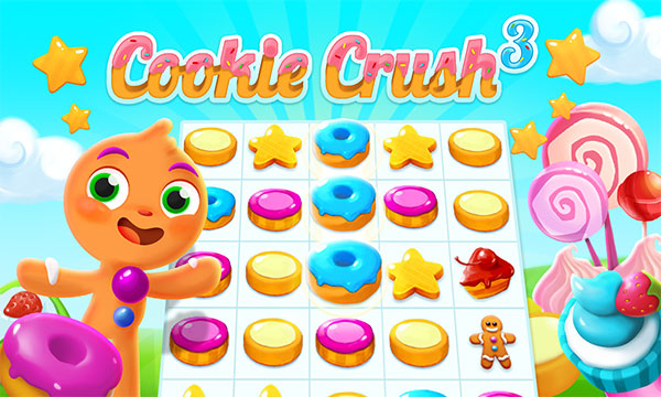 Cookie Crush 3 / Давка печенья 3 Играть Онлайн