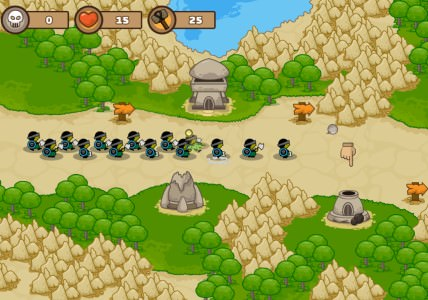Tower defense Play online