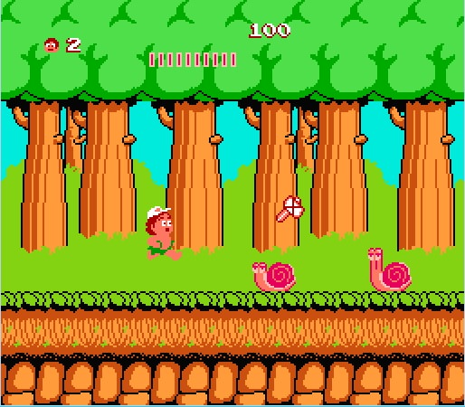Hudson's Adventure Island Play online