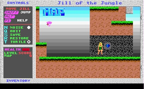 Jill of the Jungle / Джилл из джунглей Играть Онлайн