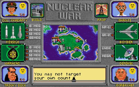 Nuclear War Play online