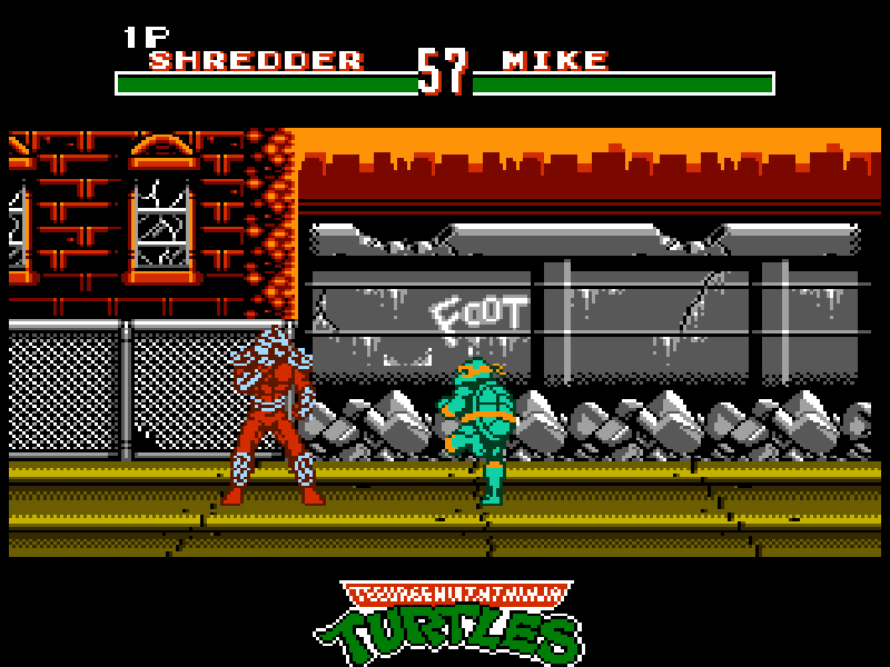 TMNT: Tournament Fighters Играть Онлайн