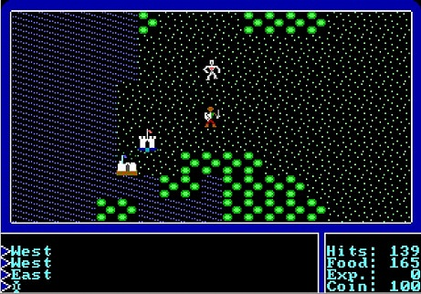 Ultima 1: The First Age of Darkness / Ультима 1: Первый век тьмы Играть Онлайн