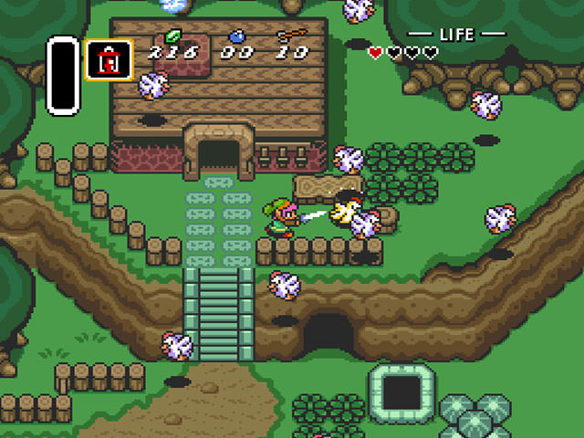 Zelda Supernintendo Играть Онлайн