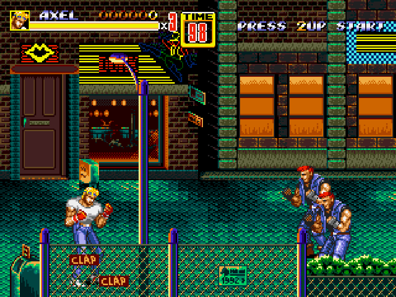 Streets Of Rage 2 (Bare knuckle 2) Download