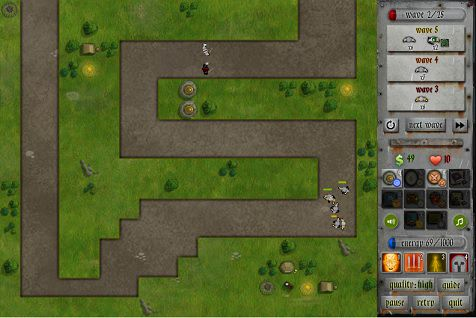 Hands Of War Tower Defence Download