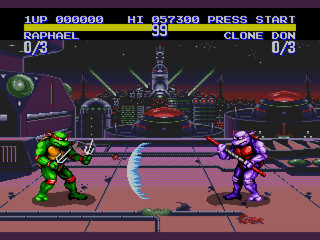 TMNT: Tournament Fighters Sega